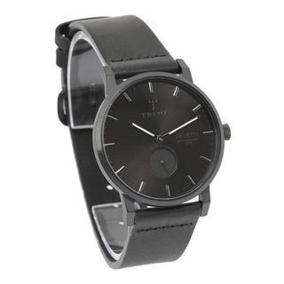 トリワ(TRIWA)の新作 トリワ 腕時計 男女兼用 FAST115-CL010101 黒レザー(腕時計)