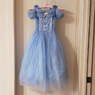 シンデレラのプリンセスドレス ハロウィンパーティー向け 120(ドレス/フォーマル)