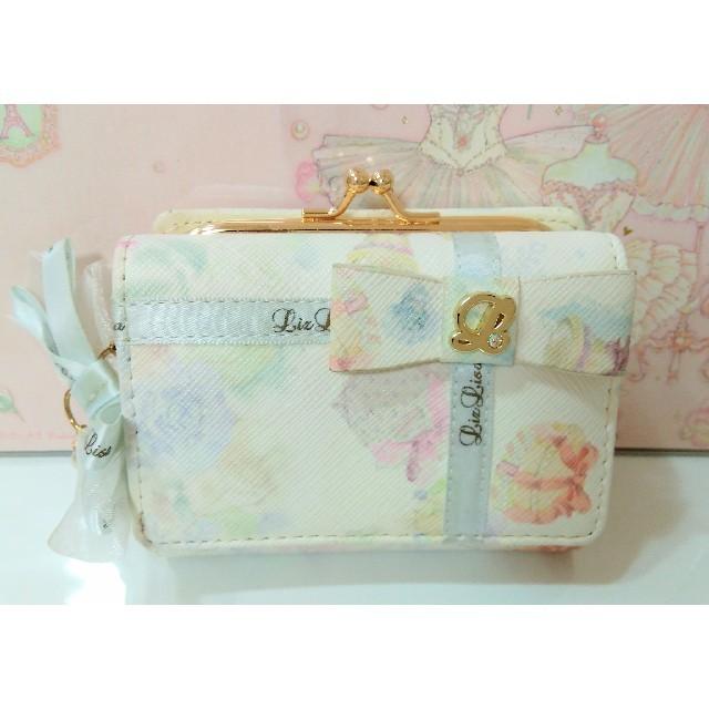 outlet store 275f0 0418d リズリサ♡プレゼント柄♡財布