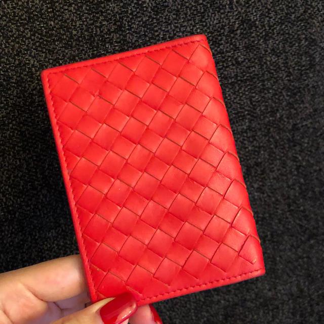 Bottega Veneta(ボッテガヴェネタ)の【BOTTEGA】カードケース レディースのファッション小物(名刺入れ/定期入れ)の商品写真