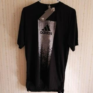 アディダス(adidas)のadidas Tシャツ 黒 L(Tシャツ/カットソー(半袖/袖なし))