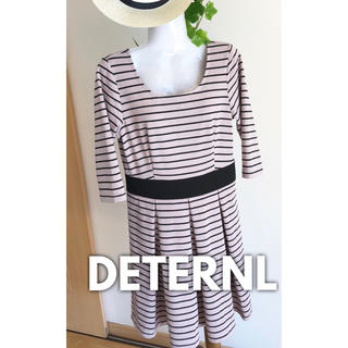 デターナル(DE TER NL)の✨ DETERNL ✨ レディース ワンピース 七分袖(ひざ丈ワンピース)