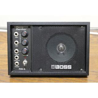 ローランド(Roland)のROLAND BOSS MA-5 Micro Monitor(スピーカー)