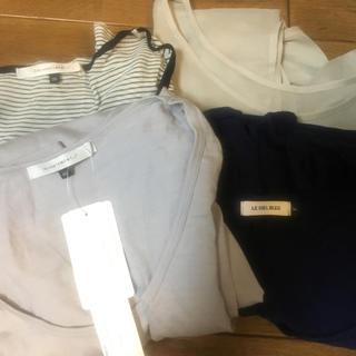 ルシェルブルー(LE CIEL BLEU)のルシェルブルーアンシャントマン新品含まとめ売りトップス(Tシャツ(長袖/七分))
