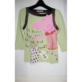 アルベロ(ALBERO)のアルベロベロのTシャツ七分袖(Tシャツ(長袖/七分))