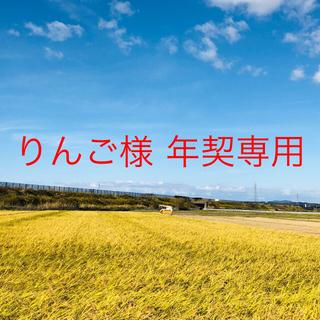 【りんごプロフ必読様 年契専用】平成30年度こまち中25②ひとめ精米25⑩(米/穀物)