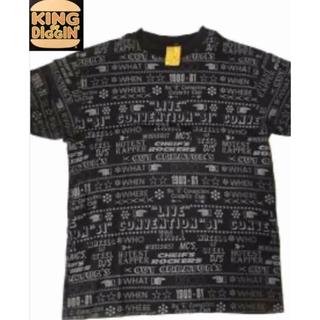 キングオブディギィン(KING OF DIGGIN')のKING OF DIGGIN キングオブディギン 総柄 Tシャツ サベージ (Tシャツ/カットソー(半袖/袖なし))