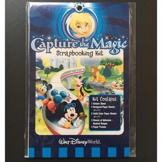 Disney - ディズニーワールド スクラップブッキングセット B6