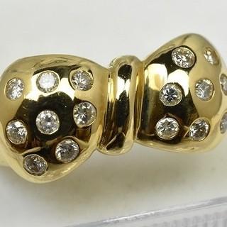 専用です K18ゴールド 合計 0.31ct ダイヤリング 10号 指輪  (リング(指輪))