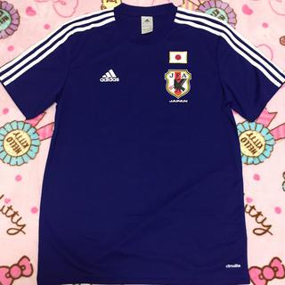 アディダス(adidas)のadidasサッカーTシャツ(Tシャツ/カットソー(半袖/袖なし))