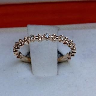 カナルヨンドシー(canal4℃)のカナル4℃ k10  YG ダイヤモンド リング(リング(指輪))