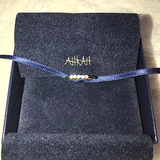 アーカー(AHKAH)のAHKAH エメ ピンキーリング (リング(指輪))