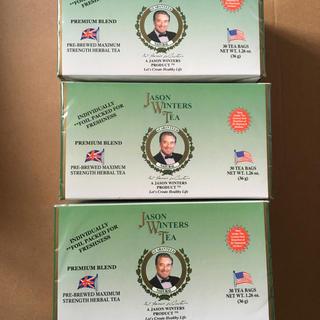 ジェイソンウィンターズティー 30包×3箱 未開封 JWT(茶)