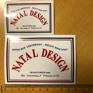 ネイタルデザイン(NATAL DESIGN)のネイタルデザイン ステッカー 大小セット natal design(その他)