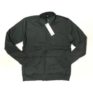 ジーユー(GU)の【新品】GU ボアスウェットスタンドジャケット(ノーカラージャケット)