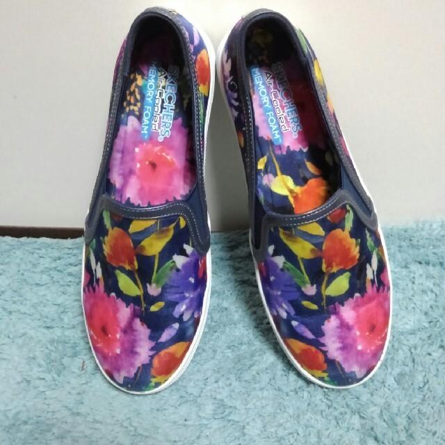 SKECHERS(スケッチャーズ)のSKECHERS/フラワースリッポン レディースの靴/シューズ(スリッポン/モカシン)の商品写真