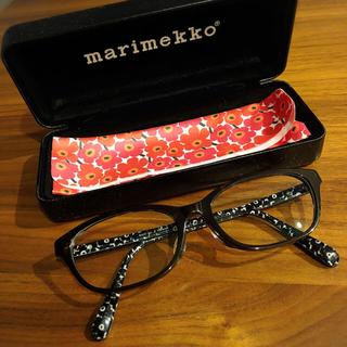 マリメッコ(marimekko)の度入りメガネ(サングラス/メガネ)