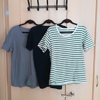 ムジルシリョウヒン(MUJI (無印良品))の♪5点以上特別セール♪3点セット販売 無印 半袖Tシャツ (Tシャツ(半袖/袖なし))