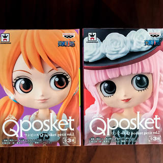 ナミ&ペローナ Qposket ワンピース フィギュア 2つセット(アニメ/ゲーム)