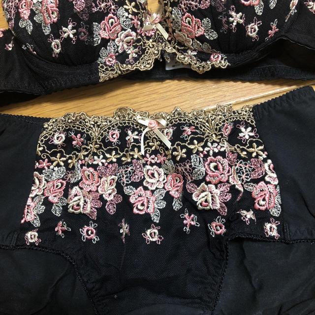 ブラ ショーツセット レディースの下着/アンダーウェア(ブラ&ショーツセット)の商品写真