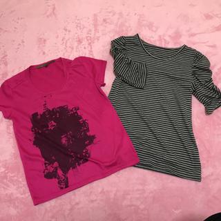 トピックラックス(topic luxe)のTシャツ(Tシャツ(長袖/七分))