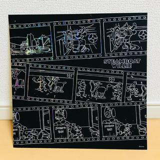 ディズニー(Disney)のスクラッチアート 完成品 3点セット(アート/写真)