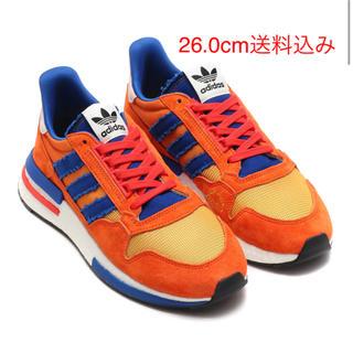 アディダス(adidas)のアディダス ドラゴンボール 悟空 ZX500 RM  26cm  新品未使用(スニーカー)