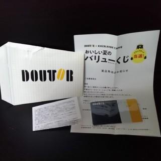 ドドール バリューカード ブラックカード(フード/ドリンク券)