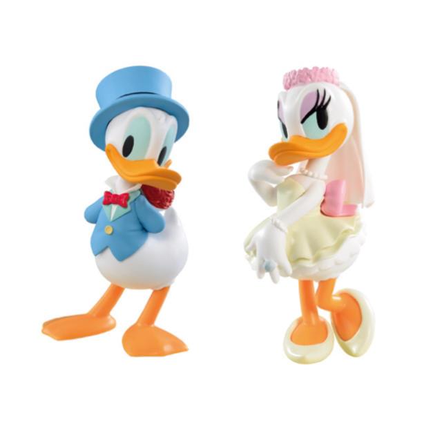 Disney(ディズニー)のドナルド デイジー 結婚式 ウェディング フィギュア エンタメ/ホビーのおもちゃ