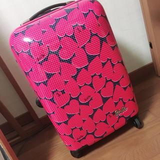 バービー(Barbie)のBarbie キャリーケース(スーツケース/キャリーバッグ)