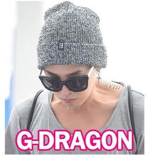 ビッグバン(BIGBANG)のbowller gdragon 着用 ニットキャップ(ニット帽/ビーニー)