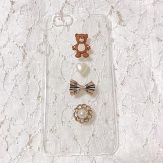 テディベアiPhoneケース(スマホケース)