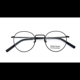 オリバーボーナス(Oliver Bonas)のシュロン ロンストロング ブラック 46(サングラス/メガネ)