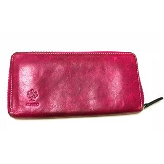 アルベロ(ALBERO)のALBERO 革 小銭入れ付き長財布 (財布)