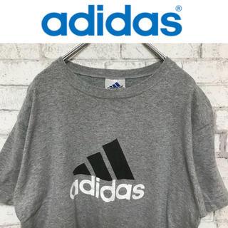 アディダス(adidas)の【adidas】アディダスビッグロゴプリントTシャツUSA製【90s】(Tシャツ/カットソー(半袖/袖なし))