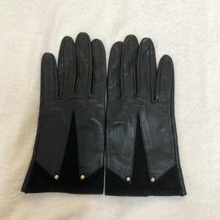 ディオール(Dior)のDiorレザー手袋(手袋)