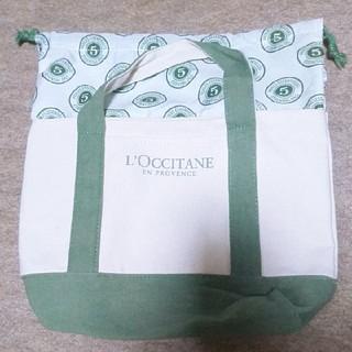 ロクシタン(L'OCCITANE)のL'OCCITANE  巾着トートバッグ(トートバッグ)