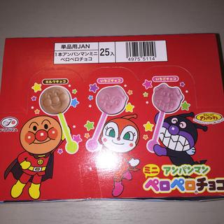 アンパンマン(アンパンマン)のアンパンマン ペロペロチョコ 25本入(菓子/デザート)
