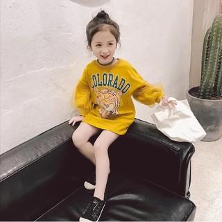 韓国子供服★タイガープリントワンピース (ワンピース)