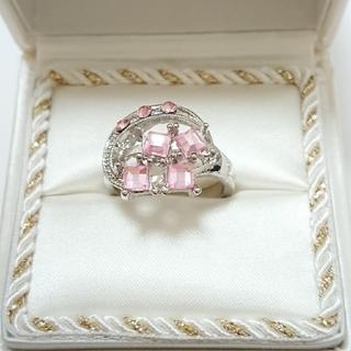 新品未使用 美品 リング 指輪 オシャレなデザイン 女性用 サイズ21号 26(リング(指輪))