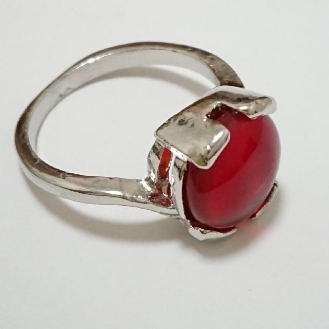 新品未使用 美品 リング 指輪 オシャレなデザイン 女性用 サイズ21号 29 レディースのアクセサリー(リング(指輪))の商品写真