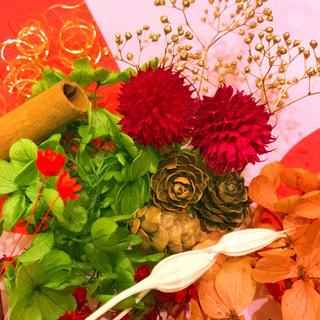 ハーバリウム★花材 大地農園  お花いっぱい おすそわけセット★ (プリザーブドフラワー)
