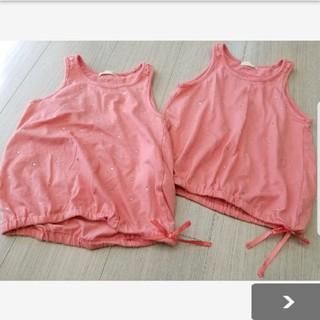 ジーユー(GU)のGU☆タンクトップ2枚セット*110(Tシャツ/カットソー)