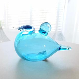 イッタラ(iittala)の*ラスト1羽* iittala Baby Blue 新品 箱あり バード(置物)