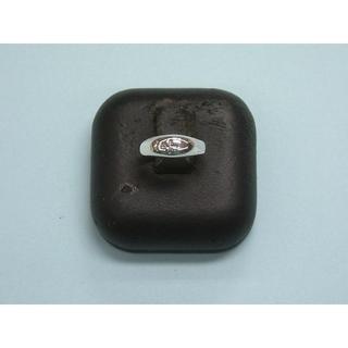 3 号サイズ シルバーリング クロス 十字架 ピンキー SILVER シンプル(リング(指輪))