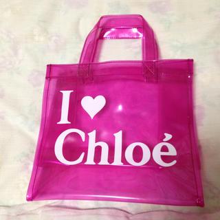 クロエ(Chloe)のSEE  BY chloeビニールバッグ(エコバッグ)