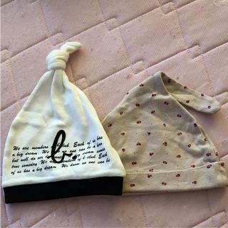 アニエスベー(agnes b.)のベビー 防寒 どんぐり帽子(帽子)