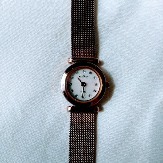 スカーゲン(SKAGEN)の最終値下げ☆SKAGEN メッシュベルト時計(腕時計)