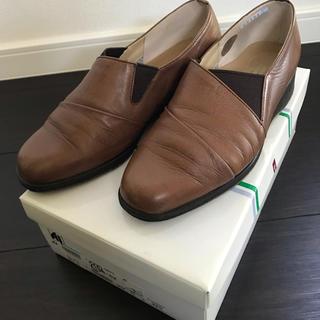 Atelier アトリエ 革靴 レディース 22.5(ローファー/革靴)