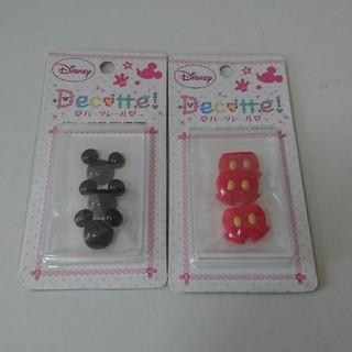 ディズニー(Disney)の【新品】ミッキー パーツシール デコッテ 2個セット(その他)
